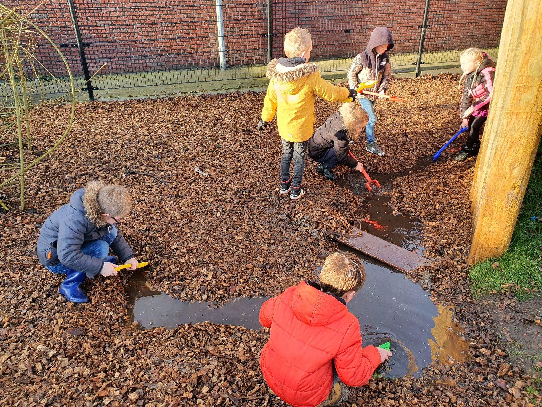 """""""Een groen schoolplein biedt kinderen dagelijks de kans op een natuurbeleving"""""""